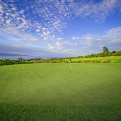 Kapalua Golf Course blue sky